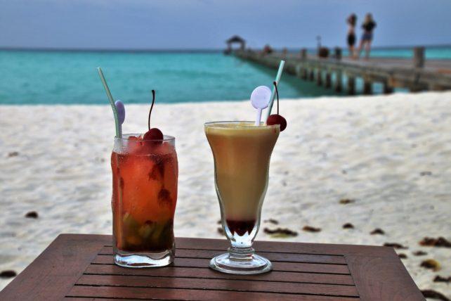 Cocktail lait de coco